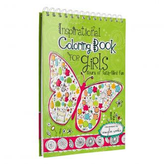 KDS 540 Fargebok - Inspirational Coloring Book for Girls